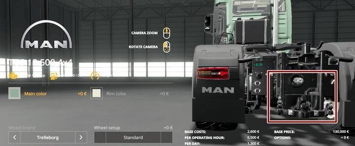MAN TGS 18.500 4x4. - Tractors and trucks available in Farming Simulator 19 - List of vehicles and machines - Farming Simulator 19 Guide and Tips