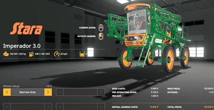 Stara Imperador 3.0. - Machines for fieldwork available in Farming Simulator 19 - List of vehicles and machines - Farming Simulator 19 Guide and Tips