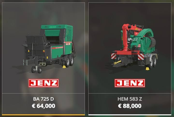 Wood chippers. - Forestry equipment available in Farming Simulator 19 - List of vehicles and machines - Farming Simulator 19 Guide and Tips