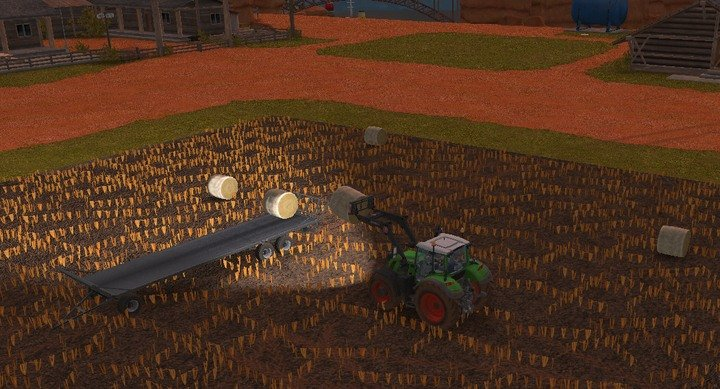 Loading bales on a trailer is rather pleasant, bales can be placed on top of each other creating levels - Grass, straw, silage | For Beginners - For Beginners - Farming Simulator 18 Game Guide
