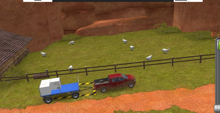To transport wool and milk you must use a special trailer that can be found near your breeding place, you can access it right after you start a game - Breeding basics | For Beginners - For Beginners - Farming Simulator 18 Game Guide