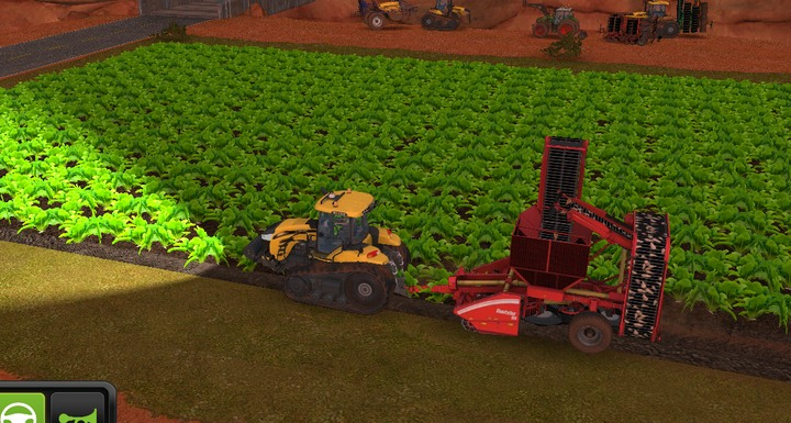 Special combines are for potatoes and beets - Motor vehicles | Machines - Machines - Farming Simulator 18 Game Guide