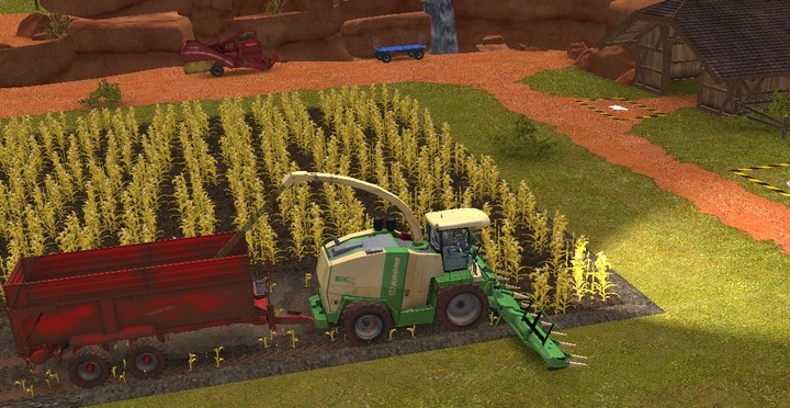 Forage harvester turns corn into chaff - Motor vehicles | Machines - Machines - Farming Simulator 18 Game Guide