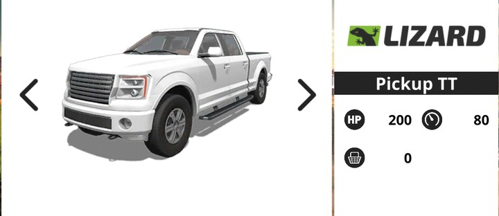 Pickup truck is a very good investment in the beginning of the game - Motor vehicles | Machines - Machines - Farming Simulator 18 Game Guide