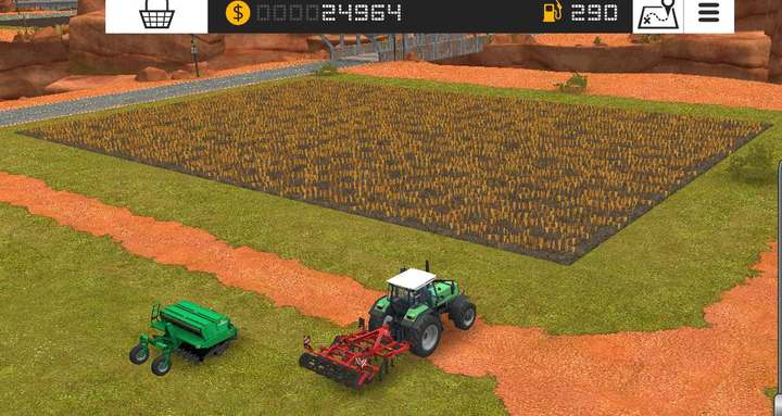 Pay attention to the order of the actions done on a field. The only exception is that you can fertilize a field before cultivating it - Agricultural machinery | Machines - Machines - Farming Simulator 18 Game Guide