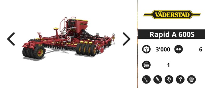 A big planting vehicle can be useful if your tractor is powerful enough - Agricultural machinery | Machines - Machines - Farming Simulator 18 Game Guide