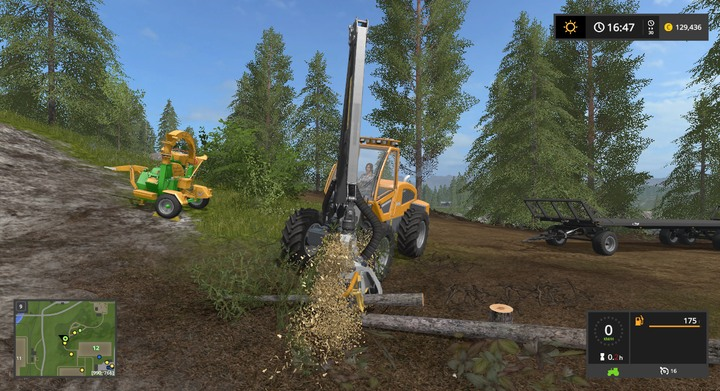 automatic logging machine