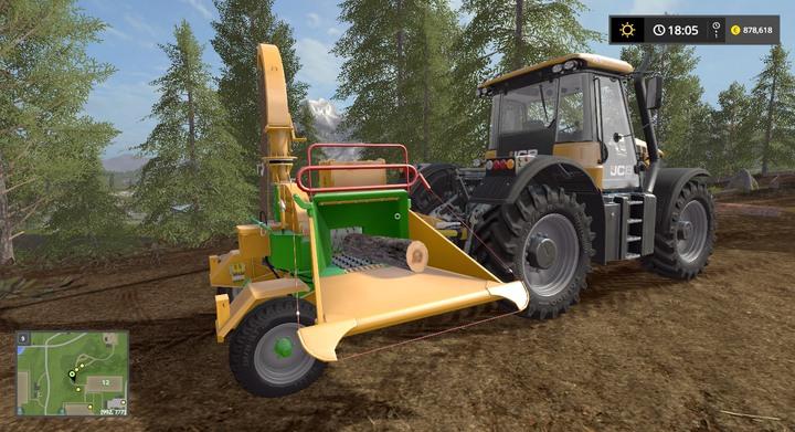 Farming Simulator 2017 Wood Crane - The Best Crane Of 2018