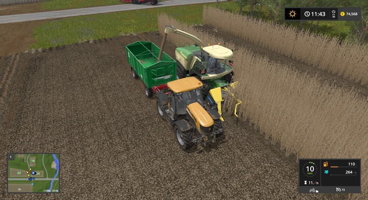 Tractors, harvesters, trucks   Descriptions of equipment - Farming