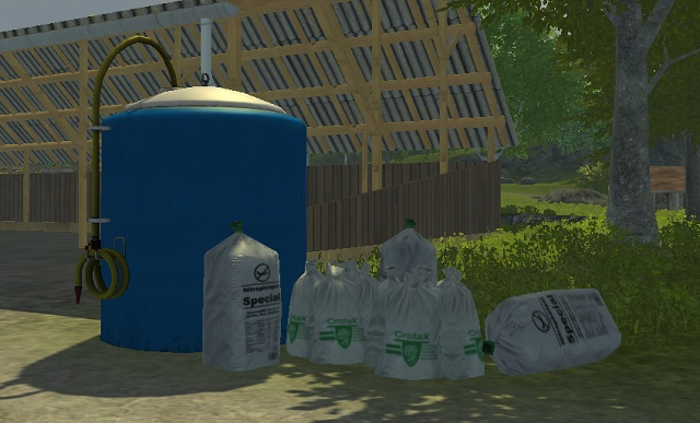 Manure tank. - Locations and buildings - The basics - Farming Simulator 2013 - Game Guide and Walkthrough