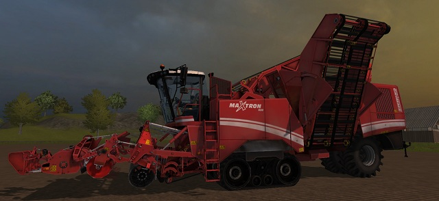 If you want to harvest sugar beet, then only with Grimme Maxtron 620. - Growing sugar beets - Agriculture - Farming Simulator 2013 - Game Guide and Walkthrough