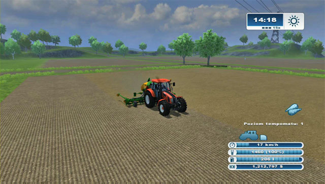The big width speeds makes for a rather fast process. - Growing sugar beets - Agriculture - Farming Simulator 2013 - Game Guide and Walkthrough
