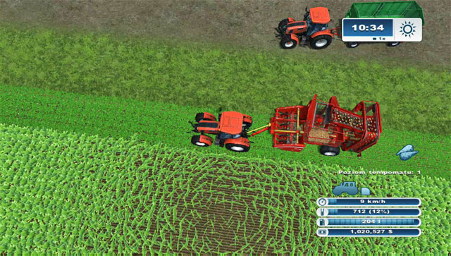 Working with this simple harvester isn't very comfortable, as you cannot hire a worker to do it. - Growing sugar beets - Agriculture - Farming Simulator 2013 - Game Guide and Walkthrough