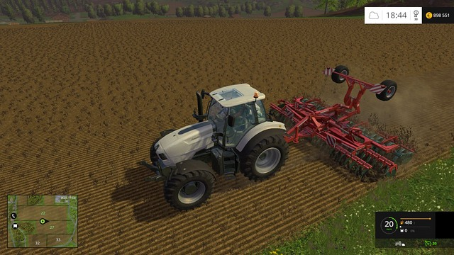 With a wide cultivator, the work will go faster. - Growing plants - preparation, harvest and selling - Basics - Farming Simulator 15 Game Guide