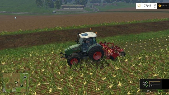 Removing leaves is a time-consuming task and it cannot be given to your workers. - Growing plants - preparation, harvest and selling - Basics - Farming Simulator 15 Game Guide