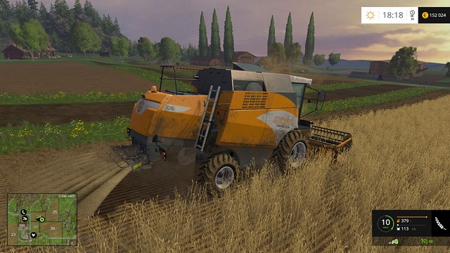 Harvesting at the beginning of the game is very slow. - Growing plants - preparation, harvest and selling - Basics - Farming Simulator 15 Game Guide