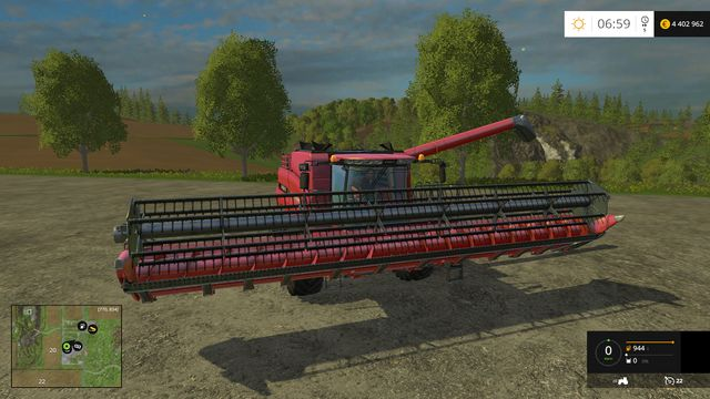 Model: Axial-Flow 7130 - List of Harvesters in Farming Simulator 15 - Machines - Farming Simulator 15 Game Guide
