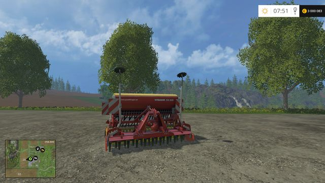 Model: Vitasem 302 ADD - Sowing machines - Machines - Farming Simulator 15 Game Guide