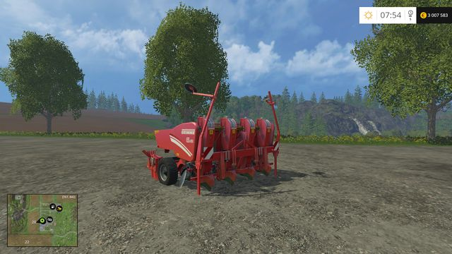 Model: GL 420 - Sowing machines - Machines - Farming Simulator 15 Game Guide