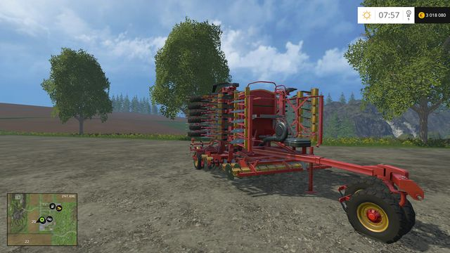 Model: Rapid A 600S - Sowing machines - Machines - Farming Simulator 15 Game Guide