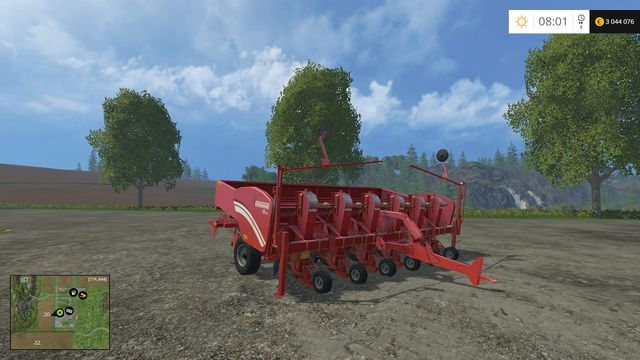 Model: GL 660 - Sowing machines - Machines - Farming Simulator 15 Game Guide
