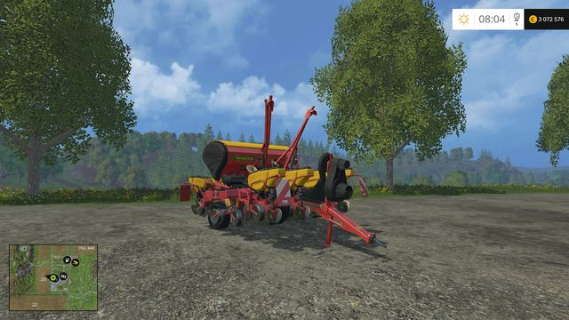 Model: Tempo F8 - Sowing machines - Machines - Farming Simulator 15 Game Guide