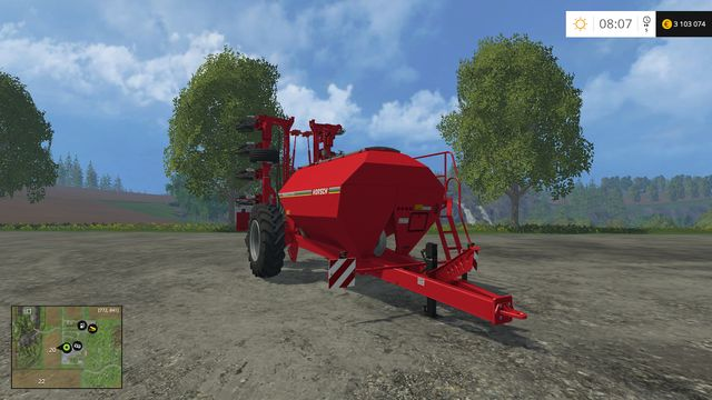 Model: Maestro 12 SW - Sowing machines - Machines - Farming Simulator 15 Game Guide