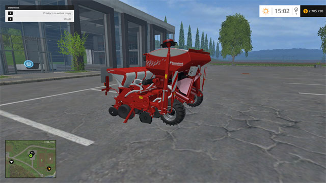 Model: Optima V - Sowing machines - Machines - Farming Simulator 15 Game Guide