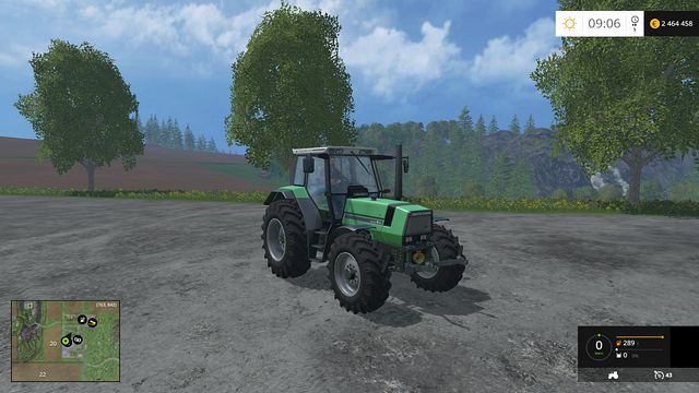 Model: Agrostar 6 - Tractors - Machines - Farming Simulator 15 Game Guide
