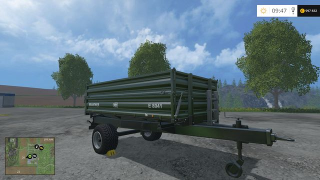 Model: E 8041 - Tippers - Machines - Farming Simulator 15 Game Guide