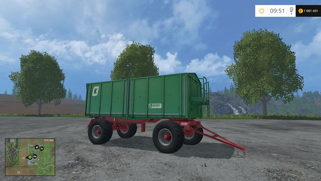 Model: HKD 302 - Tippers - Machines - Farming Simulator 15 Game Guide
