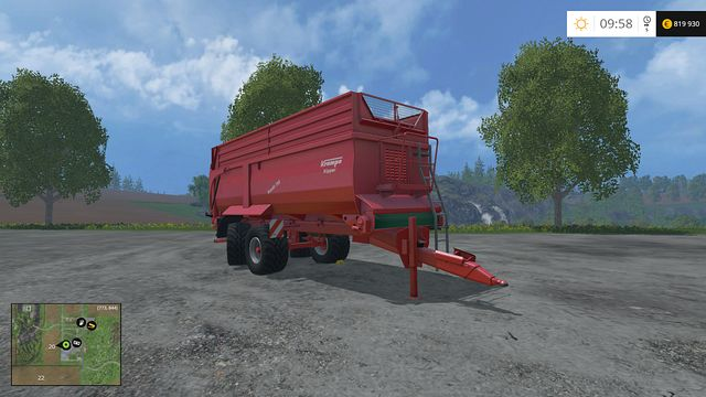 Model: Bandit 750 - Tippers - Machines - Farming Simulator 15 Game Guide