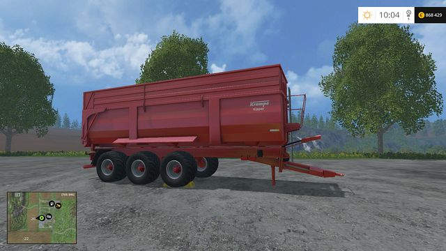 Model: Big Body 900 S - Tippers - Machines - Farming Simulator 15 Game Guide
