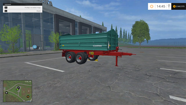 Model: TDK 1600 - Tippers - Machines - Farming Simulator 15 Game Guide