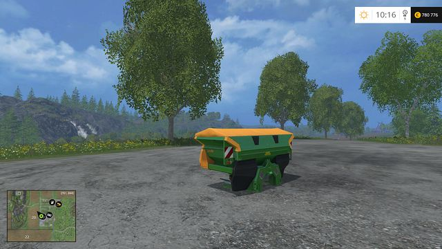 Model: ZA-M 1501 - Fertilizer spreaders - Machines - Farming Simulator 15 Game Guide