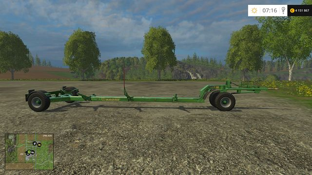 Model: Cutter trailer - Header trailers - Machines - Farming Simulator 15 Game Guide