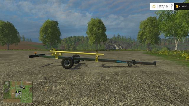 Model: Liguan 24 - Header trailers - Machines - Farming Simulator 15 Game Guide