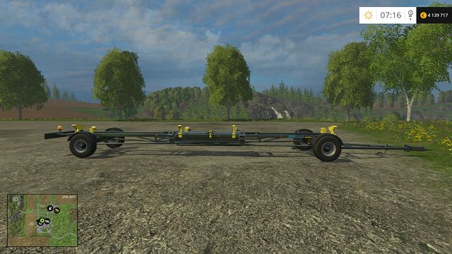 Model: Leguan Quattro 40 - Header trailers - Machines - Farming Simulator 15 Game Guide