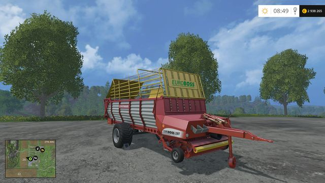 Model: Euroboss 330T - Loading wagons - Machines - Farming Simulator 15 Game Guide