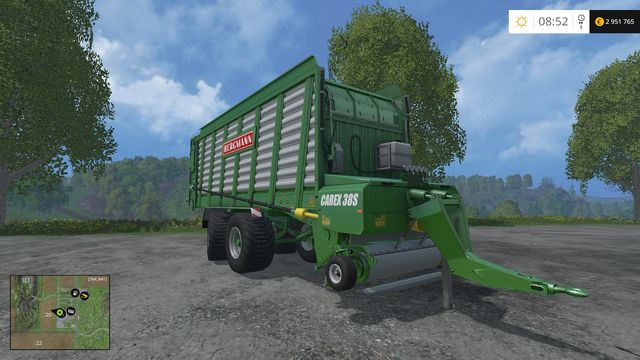 Model: Carex 38S - Loading wagons - Machines - Farming Simulator 15 Game Guide