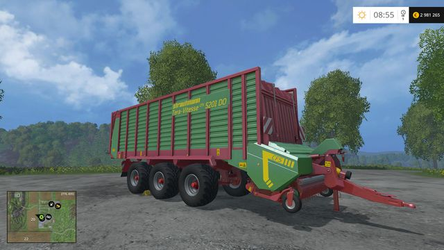 Model: Tera Vitesse 5201 - Loading wagons - Machines - Farming Simulator 15 Game Guide