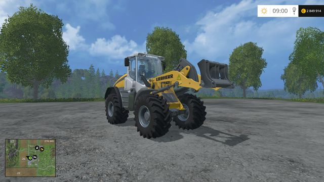 Model: L 538 - Wheel loader - Machines - Farming Simulator 15 Game Guide