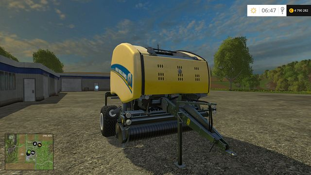 Model: Roll-Belt 150 - Bales technology - Machines - Farming Simulator 15 Game Guide