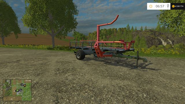 Model: T-127 - Bales technology - Machines - Farming Simulator 15 Game Guide