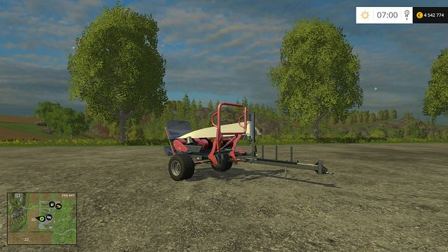Model: Z-586 - Bales technology - Machines - Farming Simulator 15 Game Guide
