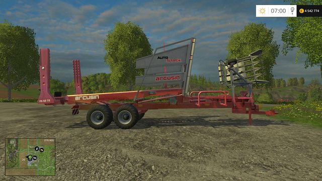 Model: Autostack FS 63-72 - Bales technology - Machines - Farming Simulator 15 Game Guide