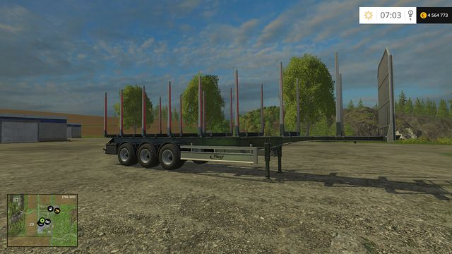 Model: Timber Runner - Forestry equipment - Machines - Farming Simulator 15 Game Guide