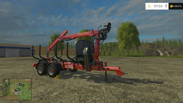 Model: FHL 13 AK - Forestry equipment - Machines - Farming Simulator 15 Game Guide
