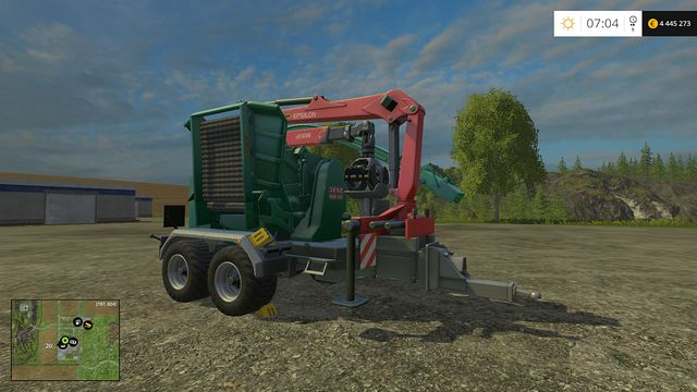 Model: Hem 583 Z - Forestry equipment - Machines - Farming Simulator 15 Game Guide
