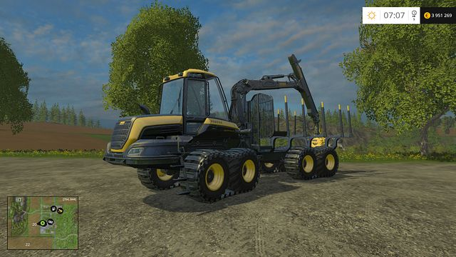 Model: Buffalo - Forestry equipment - Machines - Farming Simulator 15 Game Guide